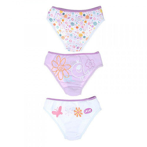Boboli *Flowers* Girls 3-Pk. Underwear Set