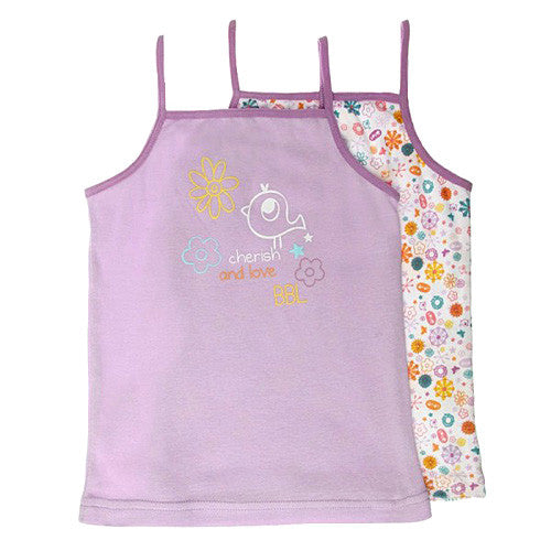 Boboli *Flowers* Girls 2-pk. Undershirt Set