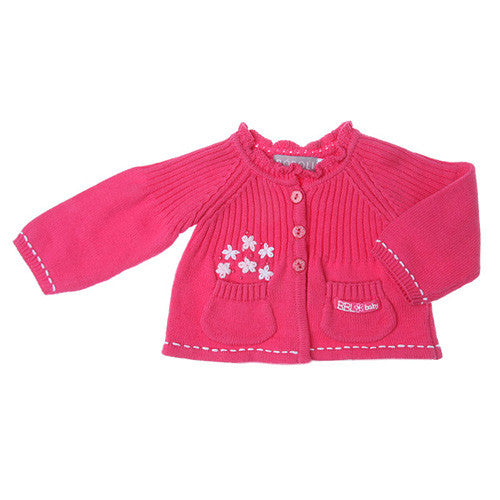 Boboli *Strawberry* Girls Knitted Cardigan
