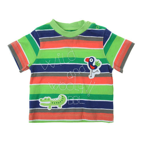 Boboli *Wild* Boys Short Sleeve Top