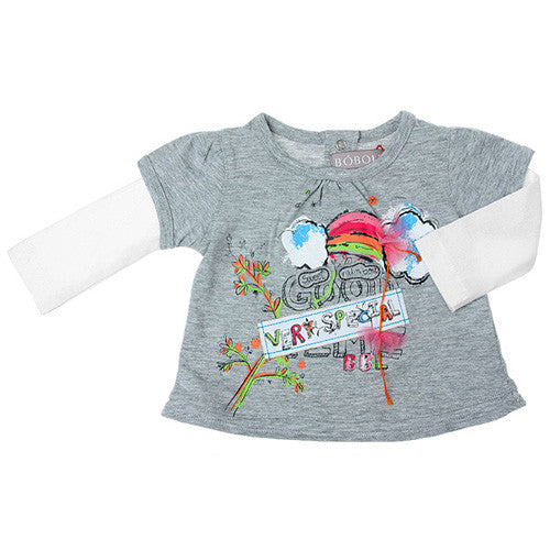 Boboli *Very Special* Girls L/S Tee