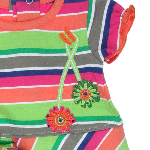 Boboli *Unique* Girls 2pc. Dress Set