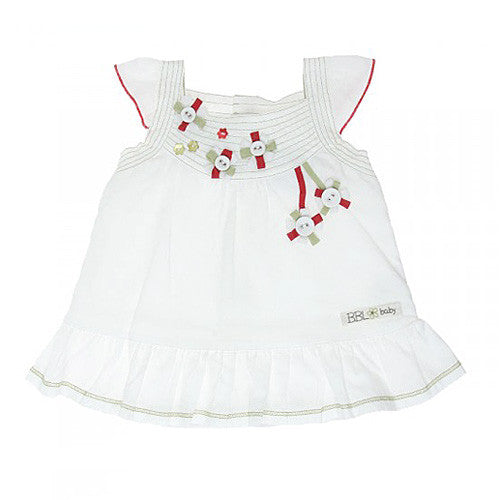 Boboli *Button* Girls Summer Dress Set