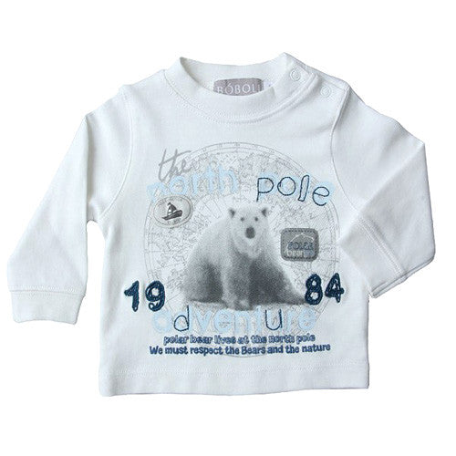 Boboli *North Pole* Boys Long Sleeve Top