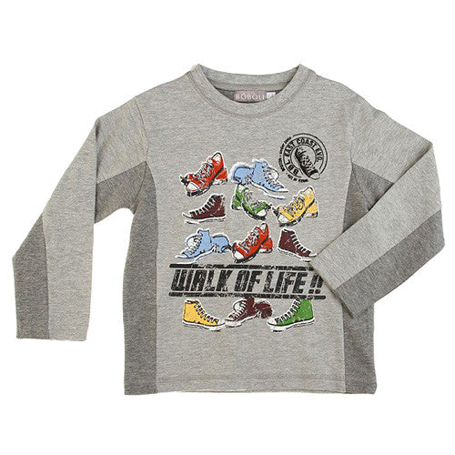 Boboli *Walk* Boys Long Sleeve Top