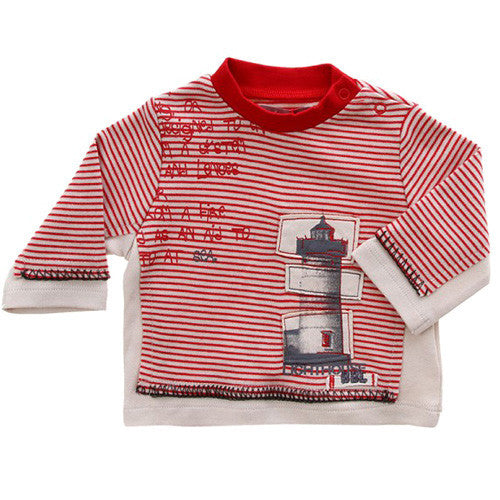 Boboli *Lighthouse* Boys Long Sleeve Top