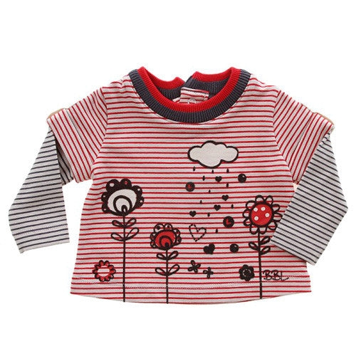 Boboli *Love* Girls Long Sleeve Top