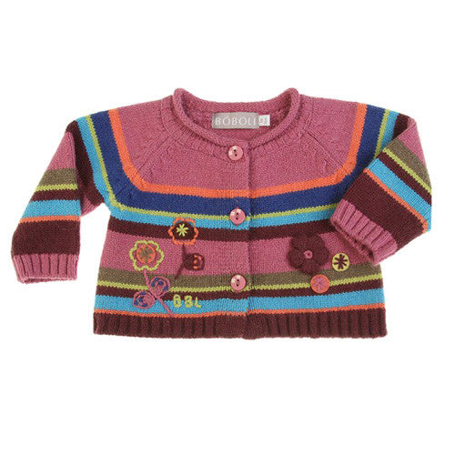 Boboli *Gracy* Girls Angora Cardigan
