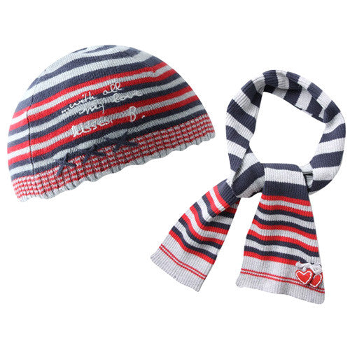 Boboli *Stacy* Girls 2 pc Hat Set
