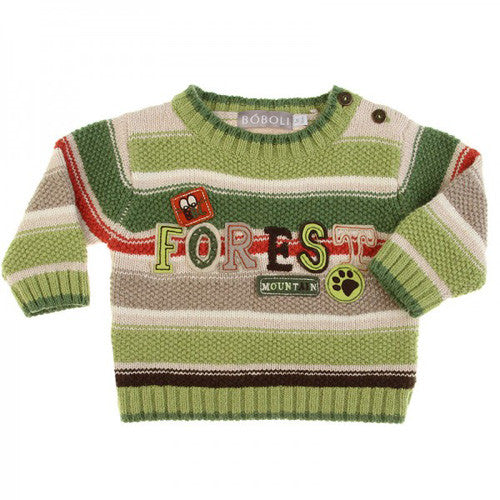Boboli *Forest* Boys Wool Sweater