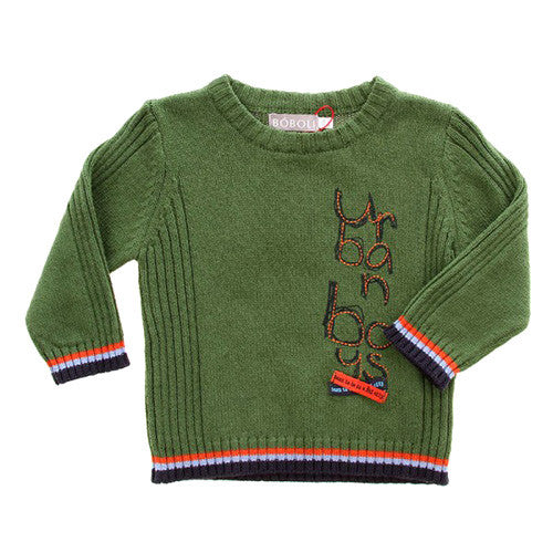 Boboli *Urban*Boys Wool Sweater