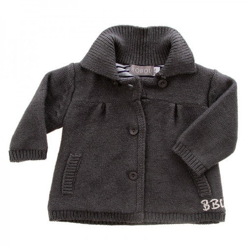 Boboli *City* Girls Knit Coat