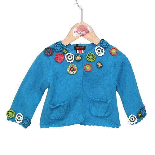 **** 60% OFF ****  Catimini *Spirit* Girls Knit Cardigan