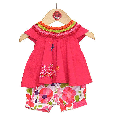 **** 60% OFF ****  Catimini *Urban Fille* Girls 2pc Shorts Set