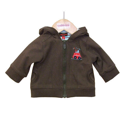 **** 60% OFF ****  Catimini *Urban Garcon* Boys Hooded Cardigan