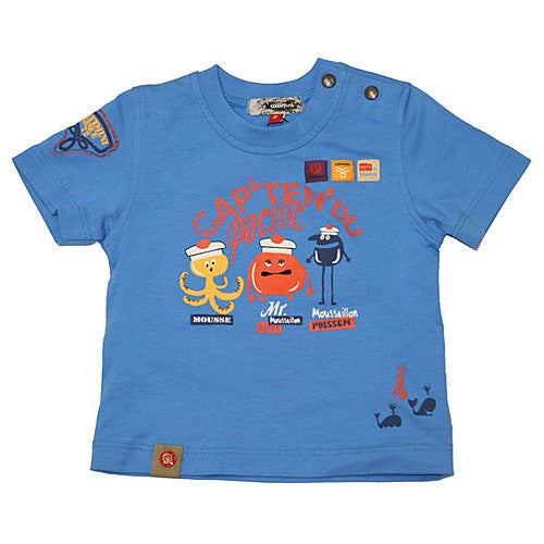 **** 60% OFF ****  Catimini *Spirit* Boys Short Sleeve Top