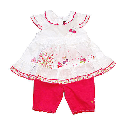 **** 60% OFF ****  Catimini *Urban2* Girls 2pc Capri Set
