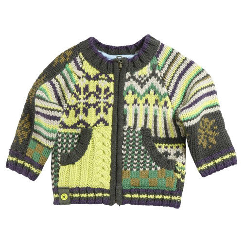 **** 60% OFF **** Catimini *Urban Global* Boys Knit Cardigan
