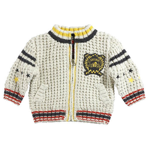 **** 60% OFF ****  Catimini *Spirit* Boys Wool Cardigan