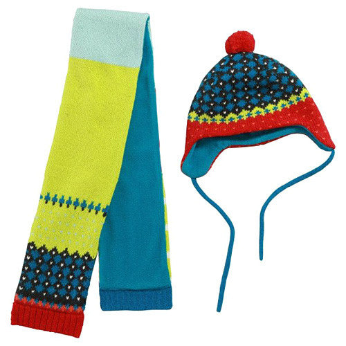 Catimin *Urban* Boys 2pc Hat/Scarf Set