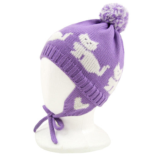 Catya *Gabby* Girls Wool Knit Hat