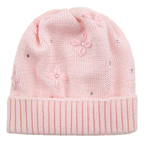 Catya *Flora* Girls Knitted Spring Hat