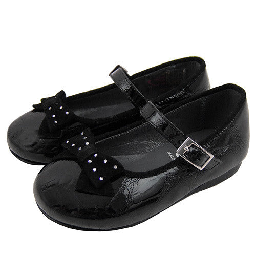 Eli *Geneive* Girls Black Mary Janes