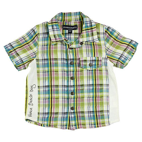 Jean Bourget *Tiny Garcon* Boys Short Sleeve Shirt