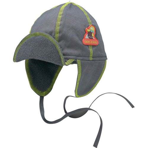 Sucre D'Orge Baby Boys Winter Hat with Ties.