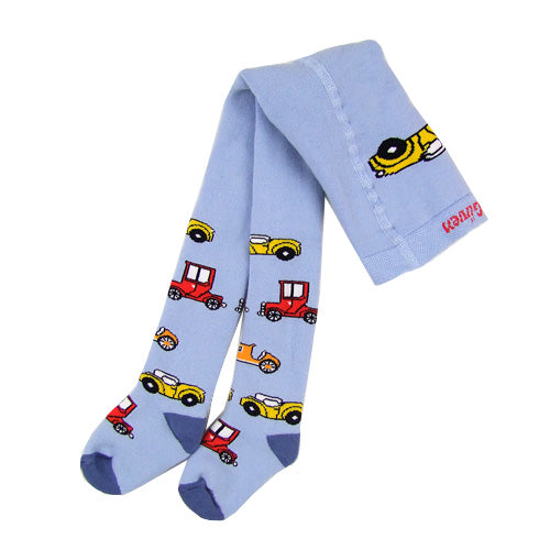 "GUVEN ""Cars"" Boys (infant/toddler) Winter Tights"