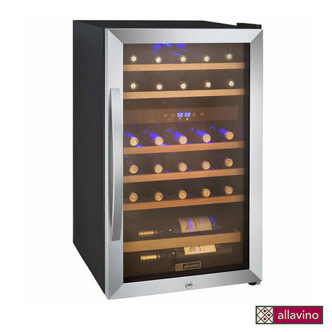 Allavino Cascina Series 29 Bottle Dual Zone Wine Refrigerator