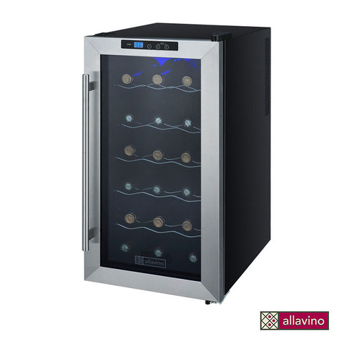 Allavino Cascina Series Thermoelectric 18 Bottle Single Zone Wine Cooler