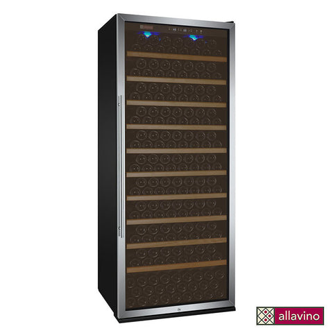 Allavino Vite Series 305 Bottle Single Zone Stainless Steel Wine Refrigerator