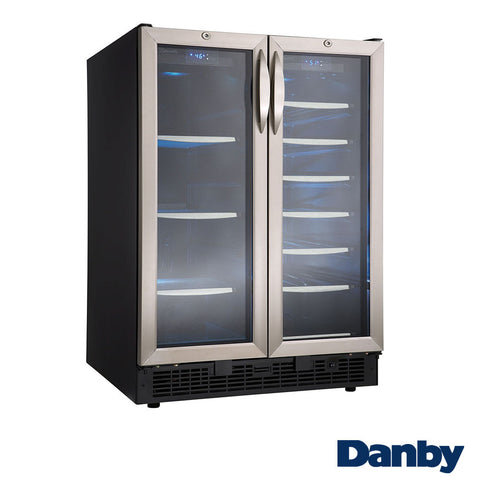Danby Silhouette Built-In Beverage Center with French Doors