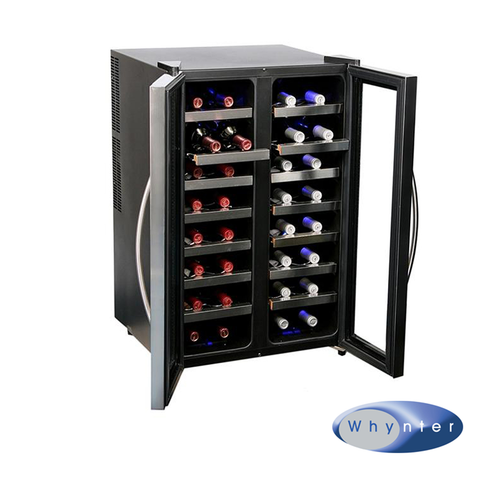 Whynter 32 Bottle Dual Zone Wine Cooler