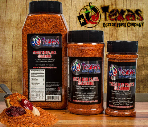 Texas Red Fajita Seasoning