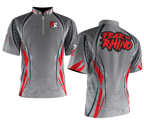 Fear The Rhino Cool Gray