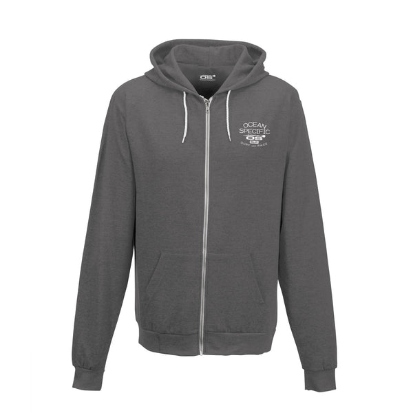 OS Surf and Race White Line Hoodie - Ocean Specific SUP