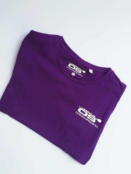 Ladies short sleeve cotton T - Ocean Specific SUP