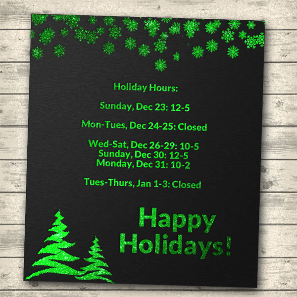 Holiday Hours (2018)