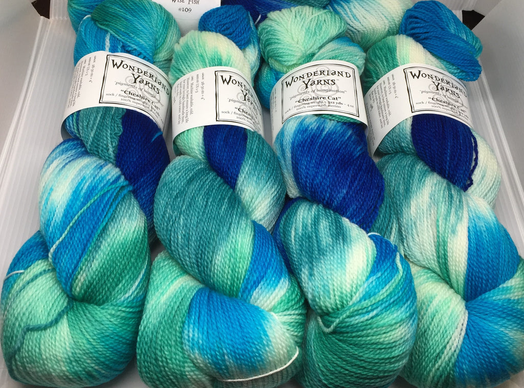 Wonderland Yarns Cheshire Cat Back in Stock