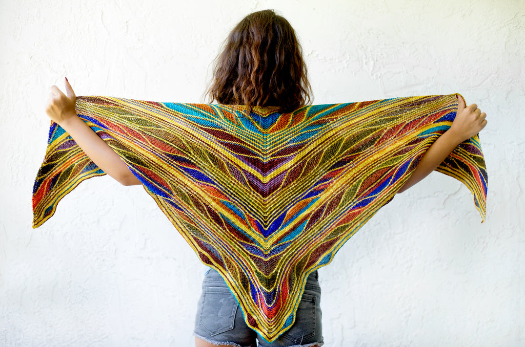 Butterfly / Papillon Shawl Kits