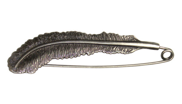 Feather Shawl Pin