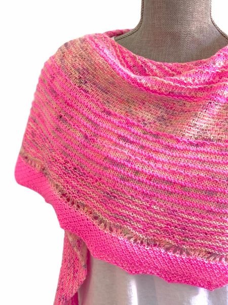 Casapinka's Hug Shot Shawl Kit - Smooshy with Cashmere