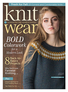 knit.wear magazine - Fall/Winter 2018