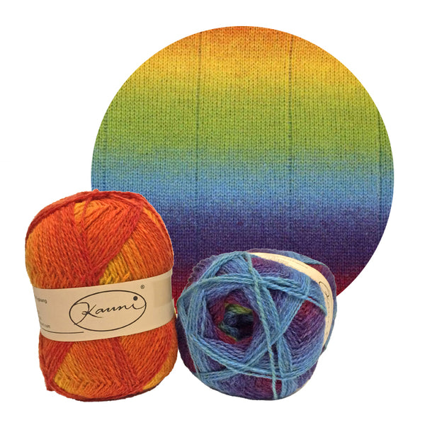 Kauni Effektgarn 8/2 - Gradient Sport Weight Wool