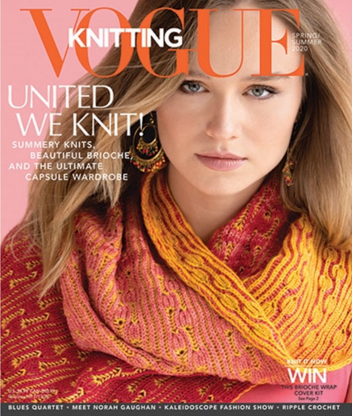 Vogue Knitting Reversal Kit Urth Monokrom Fingering and Merino Gradient