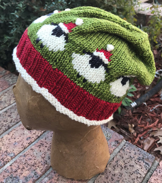 Fleece Navidad Hat Yarn Pack or Kit