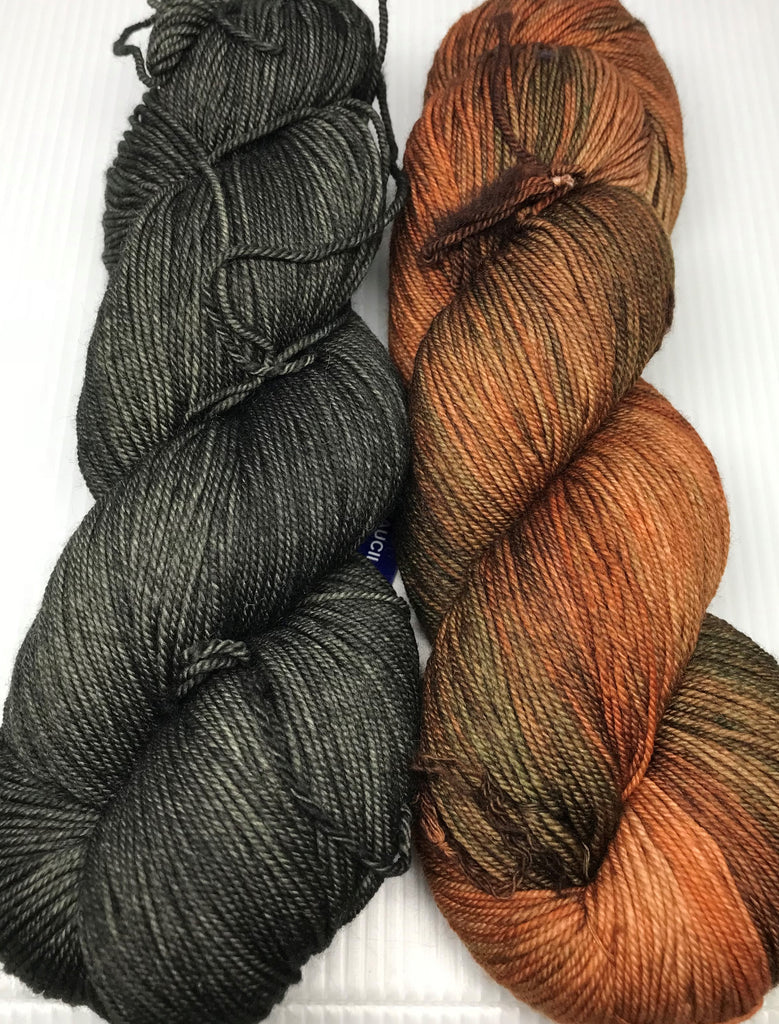 Caitlin Hunter's Sipila Sweater Yarn Pack - Malabrigo Sock
