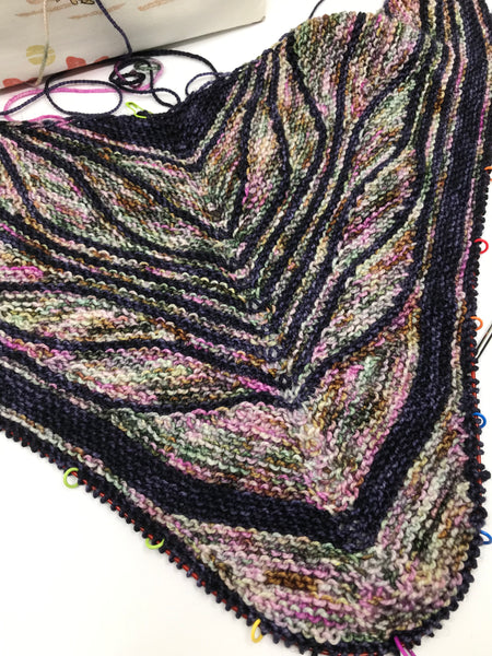 Butterfly / Papillon Shawl Kit - Rockshelter Sock